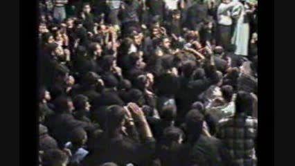 عزاداری هیئت حسینی  شهداء خرم آباد1376 -حاج آقا کریمی