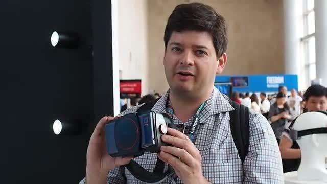 هدست واقعیت مجازی Lenovo VR Goggles