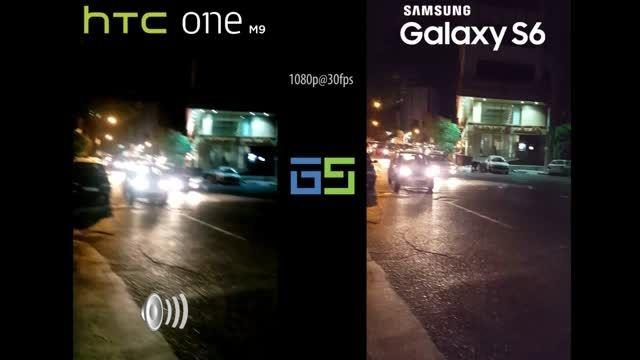 مقایسه کیفیت فیلمبرداری Galaxy S6 و one M9 در شب