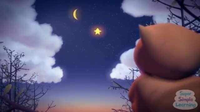 لالایی و شعر و ترانه انگلیسی: چشمک بزن ستاره کوچولو