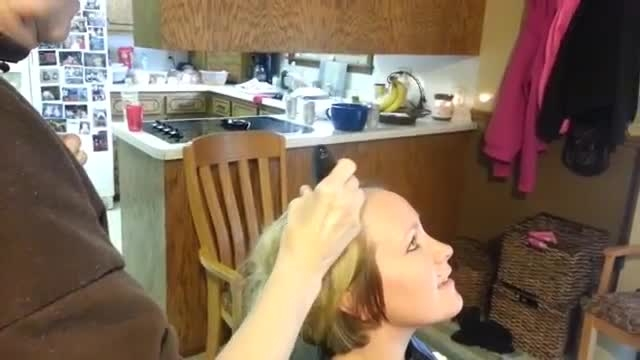 اهدای موی سر برای بیماران سرطانی 2