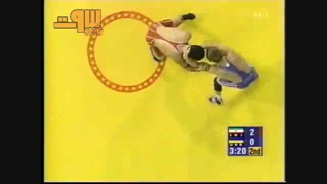 کشتی علیرضا دبیر فینال المپیک 2000 سیدنی