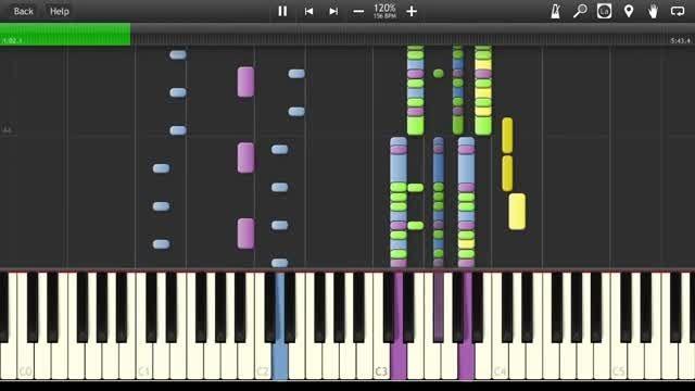مخلوطی از اجرای چند آهنگ محبوب مدرن تاکینگ با پیانو