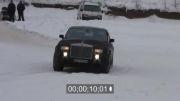 رولز رویس روی یخ