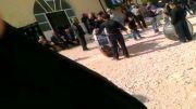 عزاداری مردم روستای هارون سکز در روز عاشورا