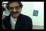 گفتگوی دکتر عطا امیدوار با شهرام ناظری در نمایشگاه آثار لوریس چکنواریان