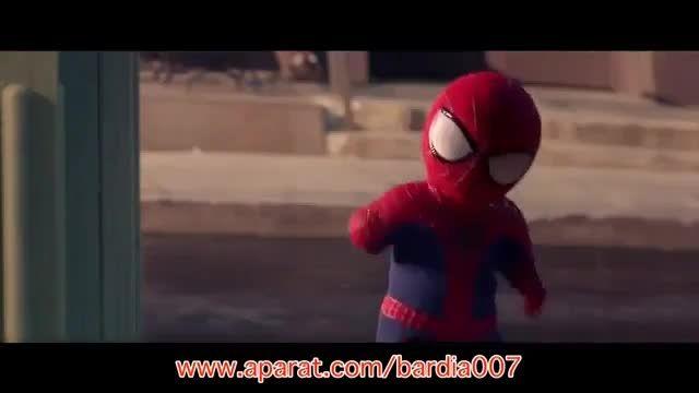 رقص با حال مرد عنکبوتی