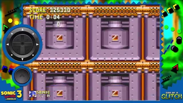 son of a glitch sonic 3 and knuckles part 2