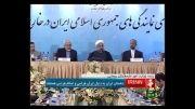 روحانی خطاب به منتقدان: به جهنم!