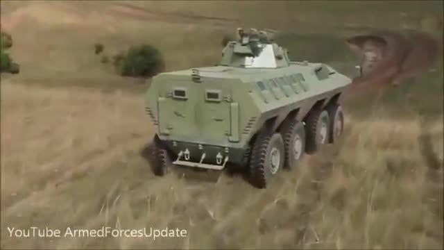 دو خودرو زرهی برتر ارتش صربستان