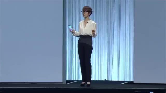 اولین معرفی Galaxy S6 Edge- Galaxy S6 در ces 2015