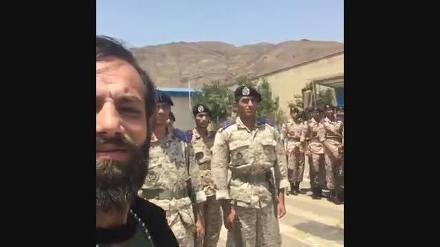 شوخی جالب امیر تتلو با سربازان ویدئو انرژی هسته ای