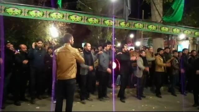 عزاداری میدان شهرداری مهربان محرم94