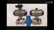 عملگر پنوماتیک / pneumatic actuator