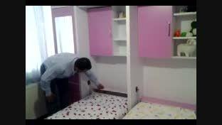 تخت تاشو دیواری