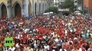 تجمع سوسیالیست های ونزوئلا در حمایت از مادورا