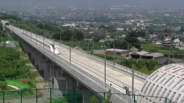 سریعترین قطار جهان در ژاپن