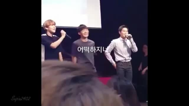 EXO 엑소 Love Me Right Fansign In Bucheon