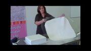 شادی / روکش کیک مربع با فوندانت
