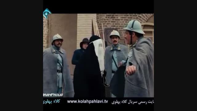 مریلا زارعی و کاووس لیراوی در کلاه پهلوی