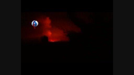انفجار لوله گاز نیروگاه ریف دمشق