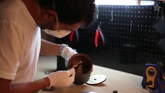 ساخت شطرنج فلزی با استفاده از پرینتر سه بعدی