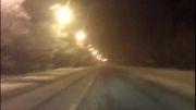 زمستان جاده چالوس
