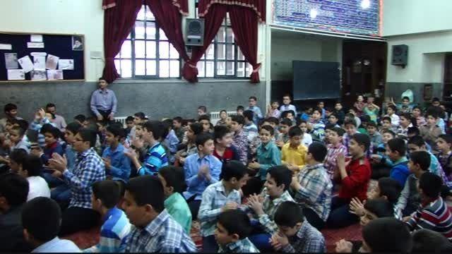 کلیپ تصویری جشن عید غدیر در دبستان پیام غدیر 2