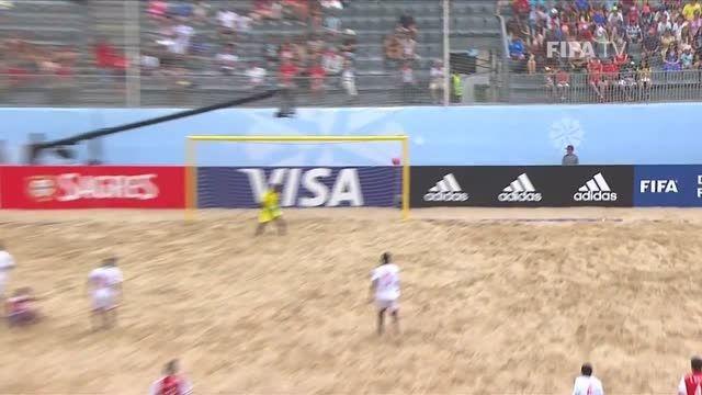 پاراگوئه VS ماداگاسکار (جام جهانی فوتبال ساحلی 2015)