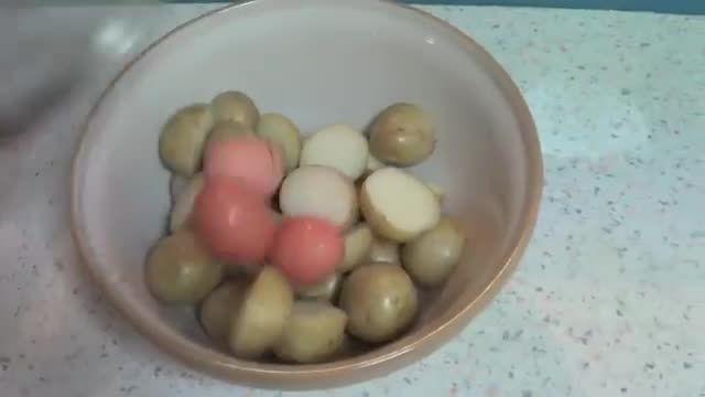 پخت سیب زمینی مك دونالد