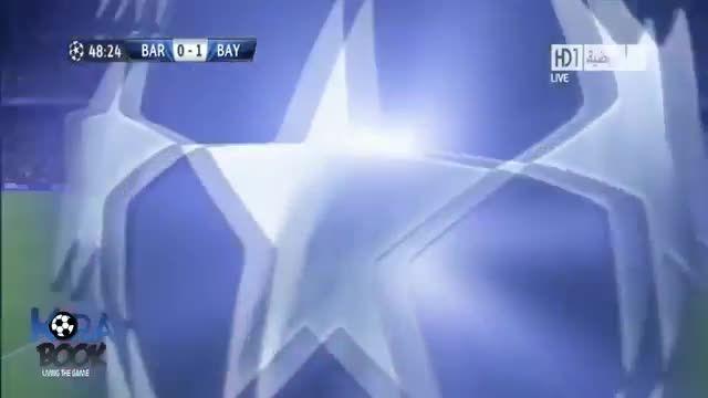 بارسلونا 0-3 بایرن مونیخ (لیگ قهرمانان اروپا 2013)