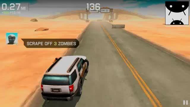 گیم پلی بازی اندرویدی Zombie Highway: Driver's Ed