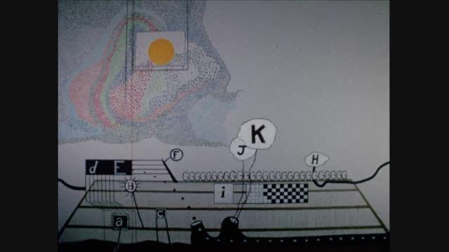 انیمیشن کوتاه (1968) The Alphabet ساخته ی «دیوید لینچ»