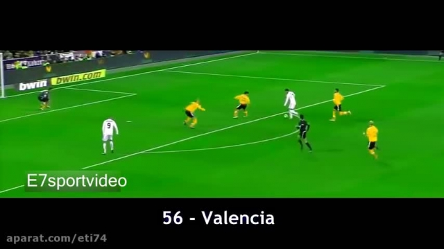 323 گل کریستیانو رونالدو برای رئال مادرید- 2009 تا 2015