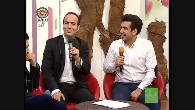 سوتی خنده دار و شوخی های بامزه در تلویزیون - حسن ریوندی