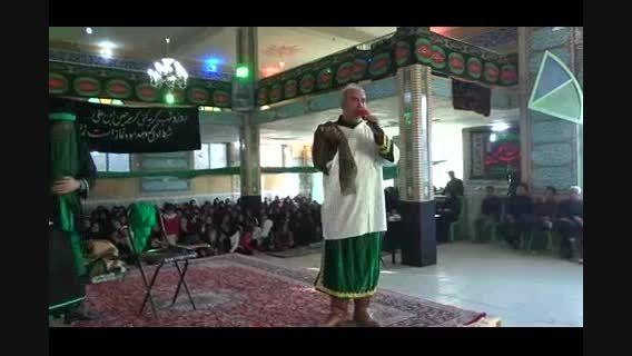 عزاداری انجدان محرم 94 جواد محمدی تعزیه عاشورا