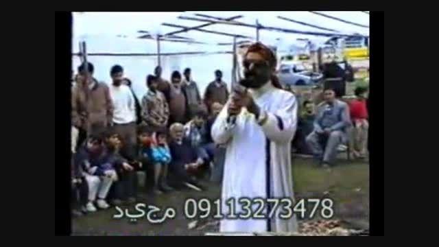مرحوم حاج محمد تقی کیقبادی در تعزیه بازار شام