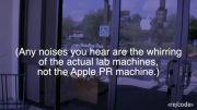 اپل خم شدن آیفون 6 پلاس را ذورغ می پندارد