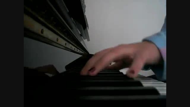 کاور پیانو آهنگ  to night از انریکه (کار خودم)