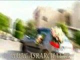 تصادف در اهواز ماشین عروس/ توجه به اخر فیلم دقت کنید که اخر