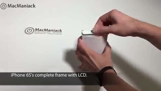 آیفون 6 اس و آیفون 6 کلیپ مقایسه صفحه نمایش