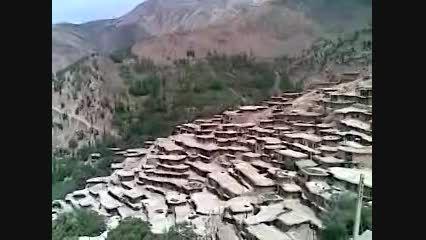 روستای پلکانی وشگفت انگیز سرآقاسید درچهارمحاال وبختیاری