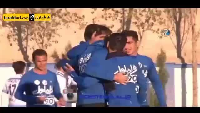گل بازی استقلال 1-0 ملوان
