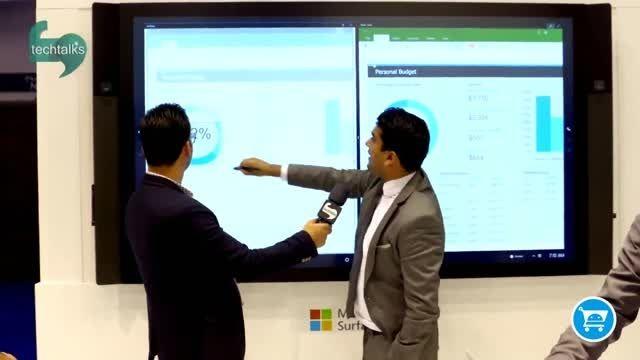 سرفیس پرو 4 و مایکروسافت در جیتکس 2015