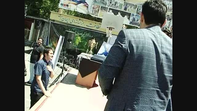 اهداء جوایز مقام سوم لیگ فوتبال دبیرستان سلام تجریش
