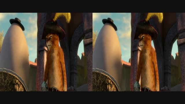قسمت کوتاه انیمیشن سه بعدی2011 Puss in Bootsدوبله فارسی