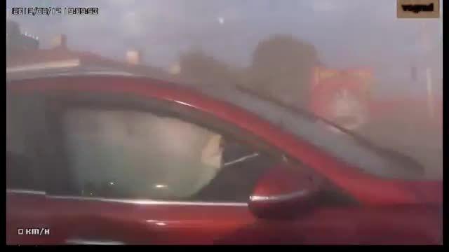 حوادث تکان دهنده رانندگی