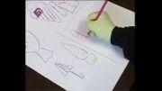 آموزش نقاشی با اعداد
