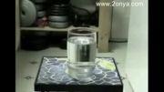 یک روش تهیه یخ بدون استفاده از فریزر