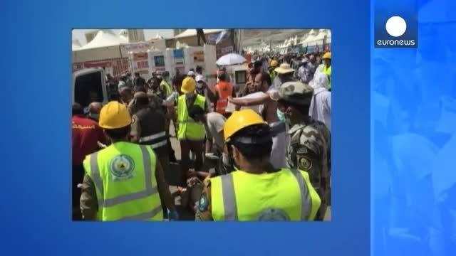 1300 حاجی در ازدحام «منا» کشته و حدود 2000 نفر زخمی شدن